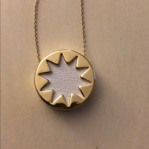 House of Harlow white starburst necklace